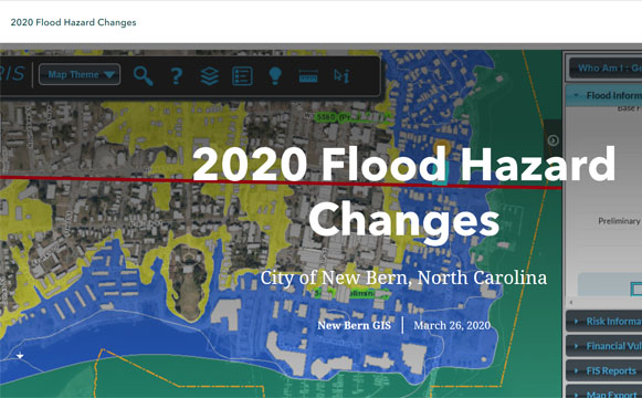 2020 Flood Hazard Changes - City of New Bern