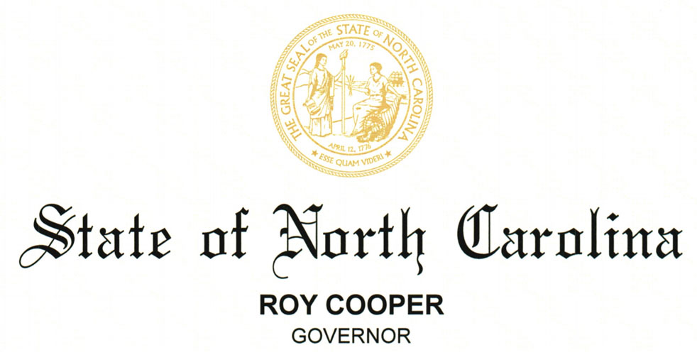 NC Gover Roy Cooper
