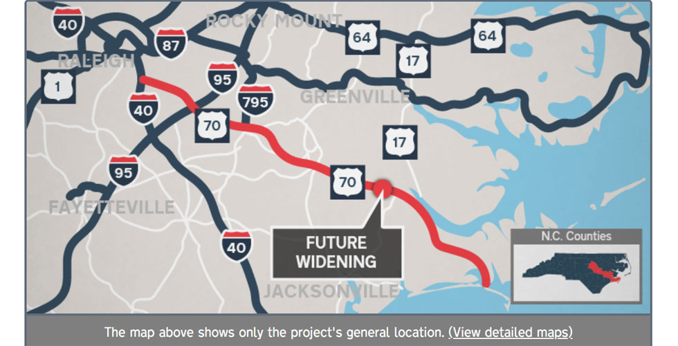 NC DOT US 70 Corridor Improvements