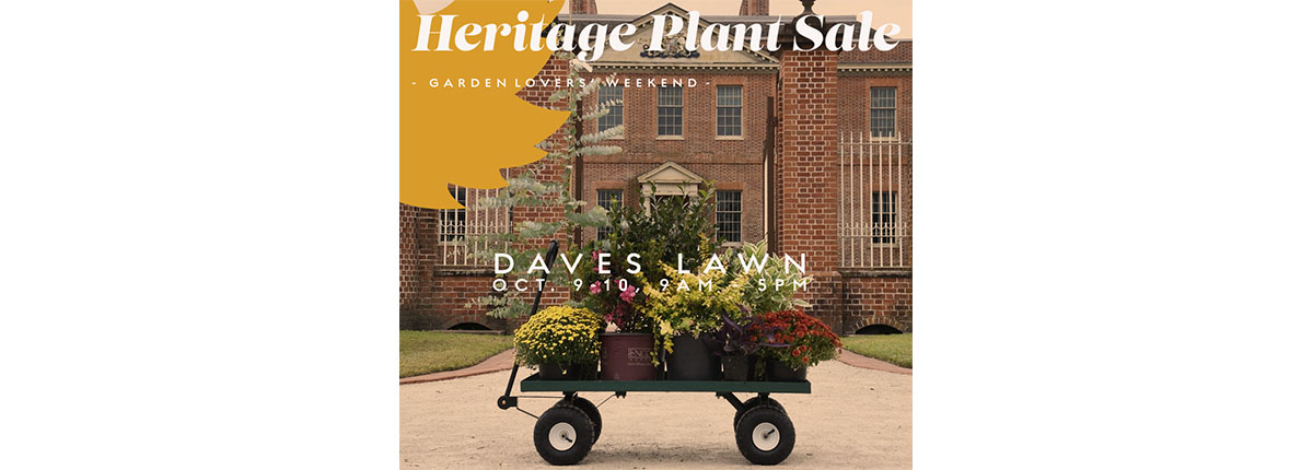 Fall Heritage Plant Sale