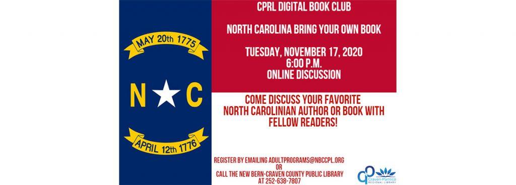 Craven-Pamlico Regional Library Digital Book Club