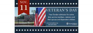 Veterans Day at Tryon Palace