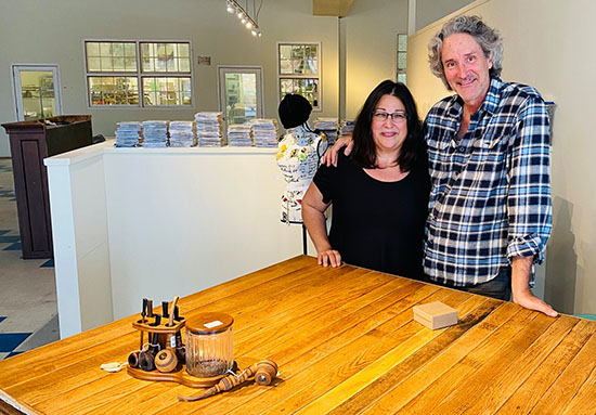 Anne Marie Hodrick and Jeffrey Cheek