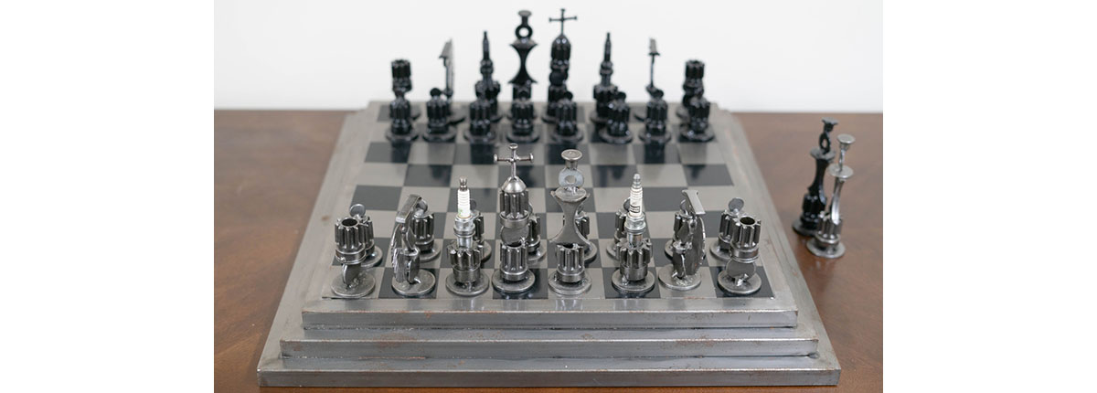 Mechanics Chess Set