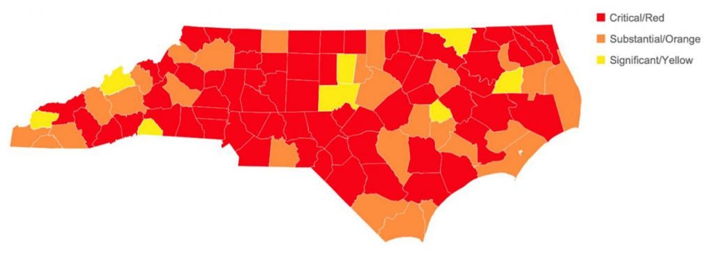 NC County of Concern
