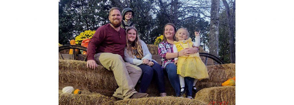 Joshua Hardee and Family