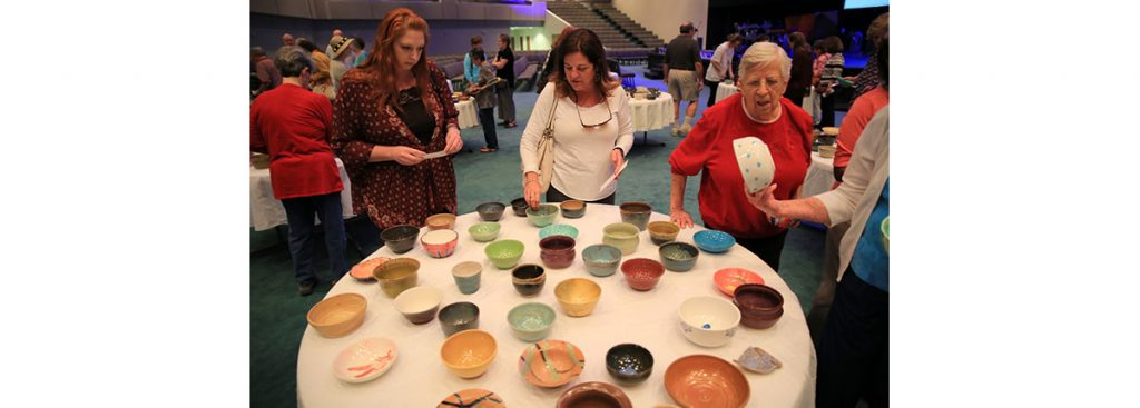 Photo from Empty Bowls 2018