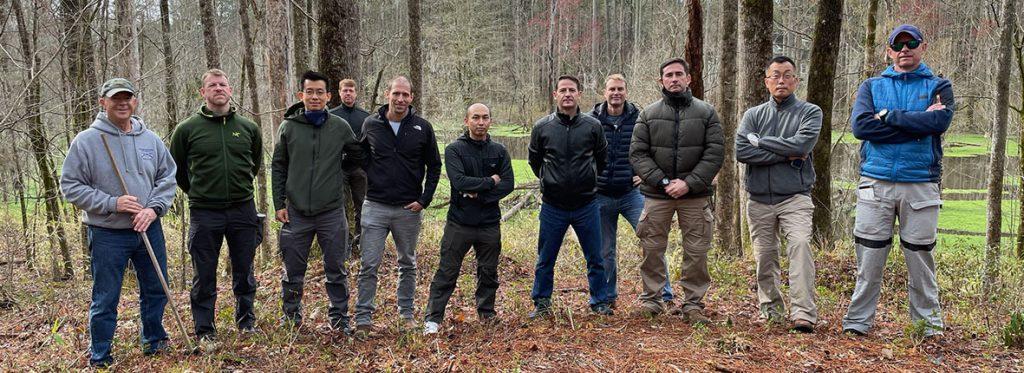 Foreign Officers visit Battlefield Park