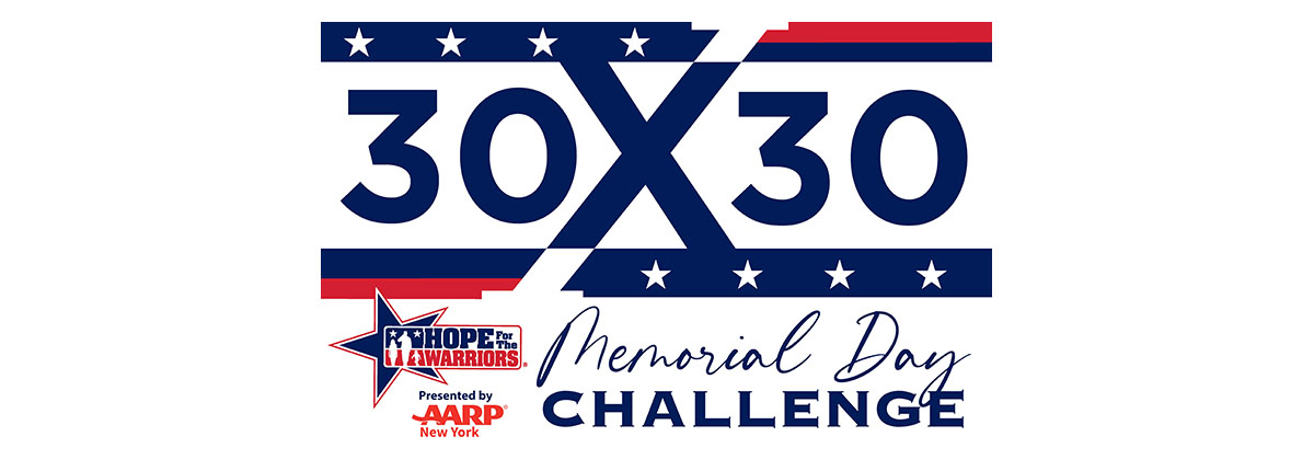 Memorial Day 30x30 Virtual Fitness Challenge
