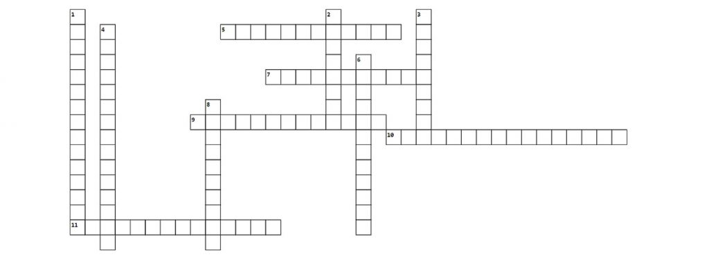 Crossword - April 25, 2021