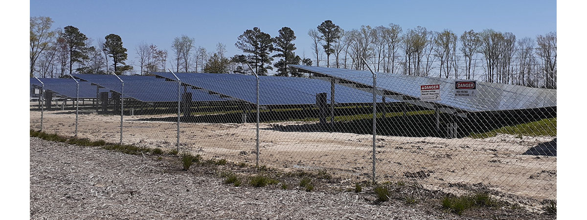 Did you know there is a solar farm near New Bern?