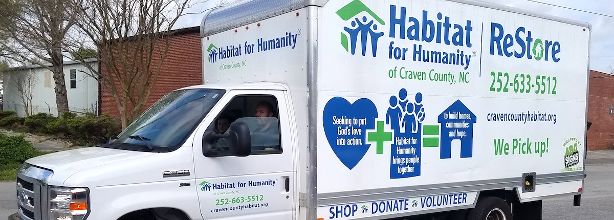 ReStore accepts gently used donated items and sells them at its store on Pollock Street. Proceeds from sales help support Habitat for Humanity. Contributed photo