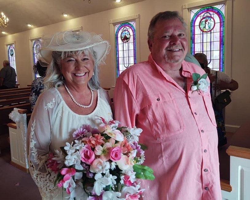 Darlene and Hobey White