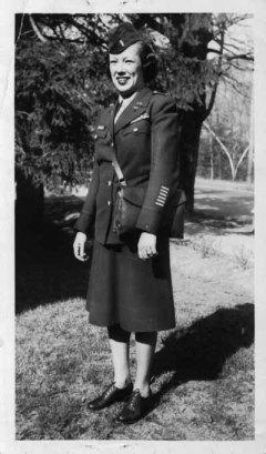 Army Nurse Evelyn Whitlow