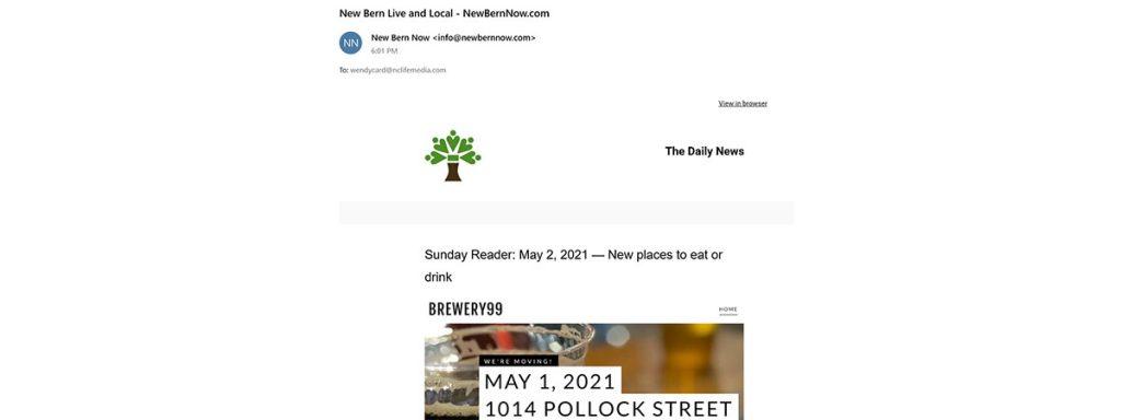 New Bern Daily News