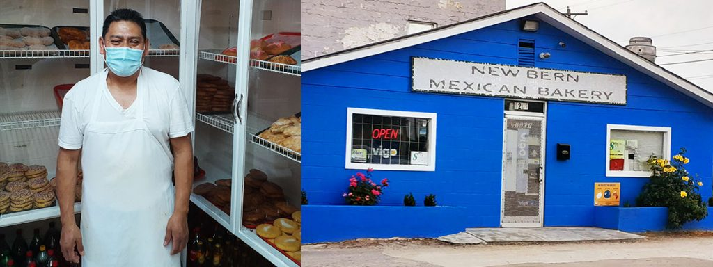 Ray Munoc at New Bern Mexican Bakery