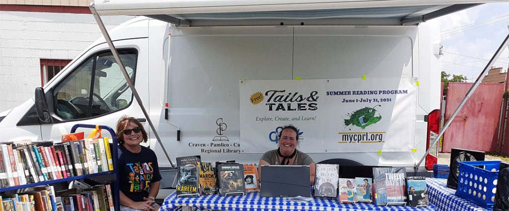 Craven-Pamlico Regional Library Book-TechMobile