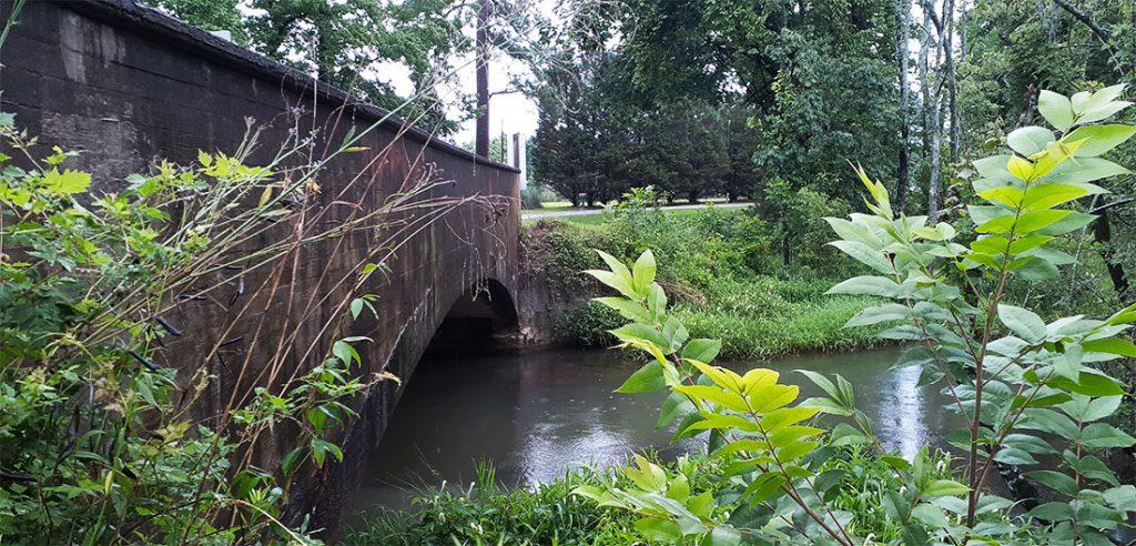 Bridge over Caswell Branch