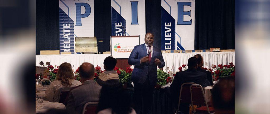 Dr Bryan Johnson at PIE Luncheon