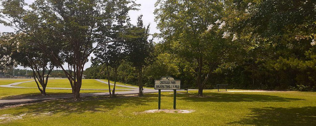 Creekside Park Walking Trail