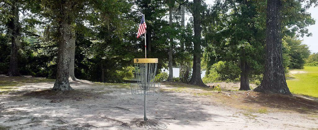 Disc Golf at Creekside Park