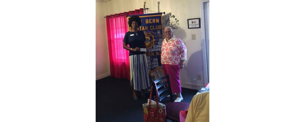 New Bern Civitan Club check presentation