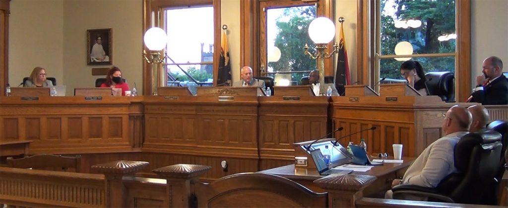 New Bern Board of Aldermen Meeting July 13 2021