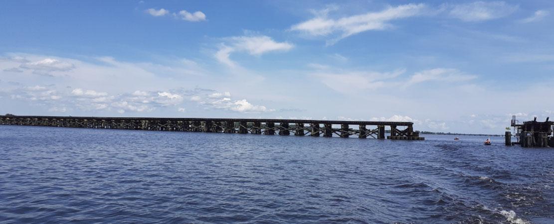 Railroad Bridge over Neuse River