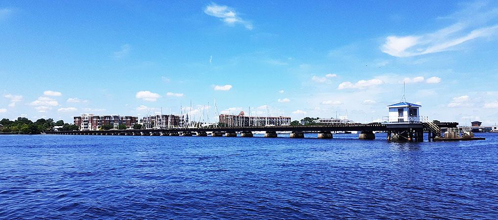 Railroad Bridge over Trent River