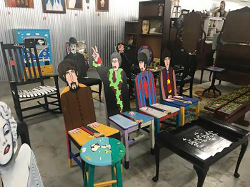 Jerry Scott's Booth