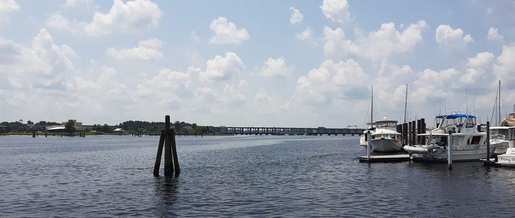View from Riverwalk