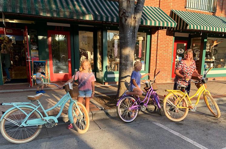 Biking in New Bern