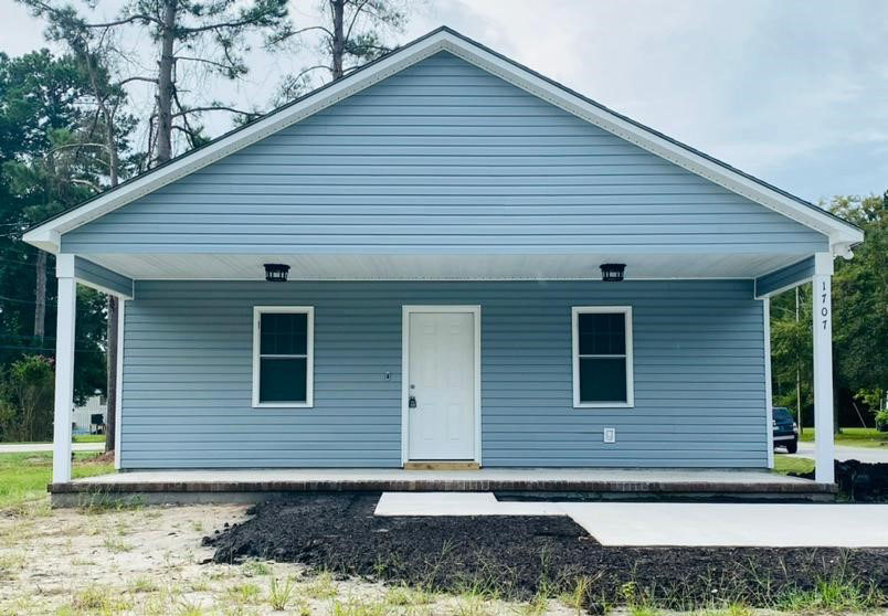Home built by Habitat for Humanity of Craven County NC
