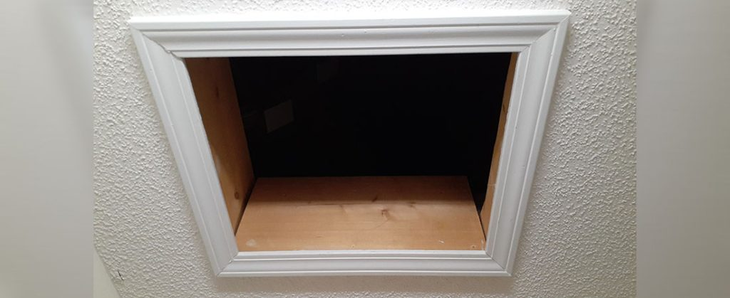 picture of an attic