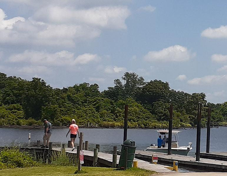 Boat Launch at Lawson Creek Park