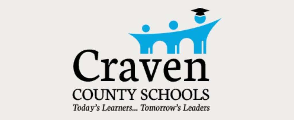 Craven County Schools - logo banner