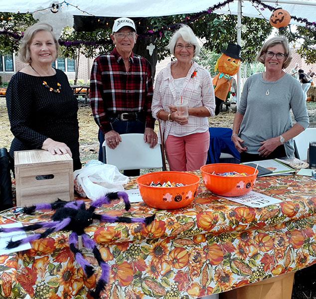 Pumpkin Patch Volunteers at Christ Church