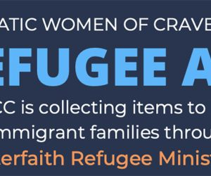 help local refugees through Interfaith Refugee Ministries