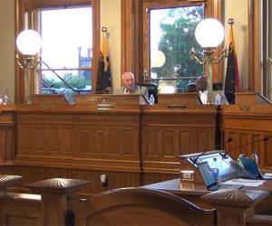 New Bern Board of Aldermen Meeting photo taken on July 13 2021