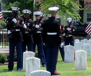 Past Photo from Memorial Day at New Bern National Cemetery