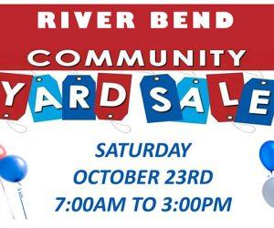 River Bend Community Yard Sale