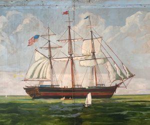 The Ballard of Old New Bern mural